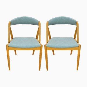 Chaises de Salle à Manger 31 par Kai Kristiansen pour Schou Andersen, 1960s, Set de 2