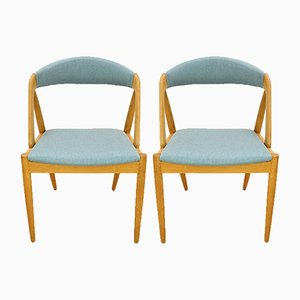 Nr. 31 Esszimmerstühle von Kai Kristiansen für Schou Andersen, 1960er, 2er Set