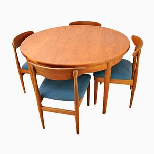 Dining Table and 4 Chairs, 1960s