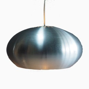 Silberne Vintage Medio Hängelampe von Jo Hammerborg für Fog & Mørup