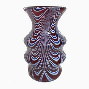 Vaso in vetro di Murano, anni '60