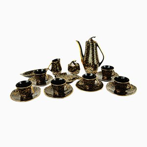 Servizio da caffè modello Iza vintage in porcellana di Józef Września per Chodziez, anni '60