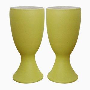 Tazze da Mazagran in ceramica di Pol Chambost, anni '50, set di 2