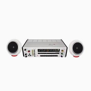RK5 Radio mit Sensit K20 Lautsprechern von Karl Clauss Dietel & Lutz Rudolph für HELI