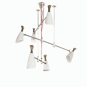 Lámpara de araña Duke 6 redonda de Covet Paris