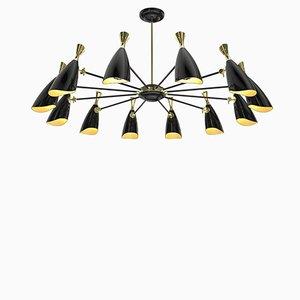 Lámpara de araña Duke 12 redonda de Covet Paris