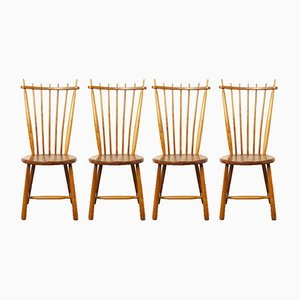 Vintage Dining Chairs from De Ster Gelderland, Set of 4