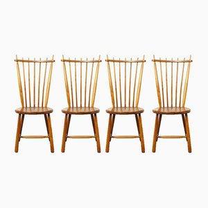 Vintage Esszimmerstühle von De Ster Gelderland, 4er Set
