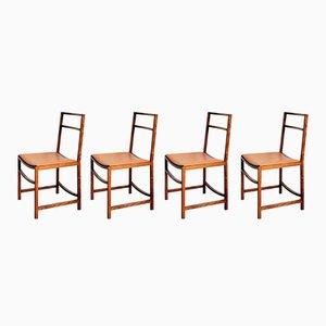 Chaises de Salle à Manger par Renato Venturi pour MIM, 1960, set de 4