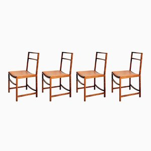 Esszimmerstühle von Renato Venturi für MIM, 1960, 4er Set