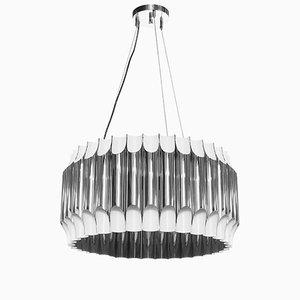 Lámpara de araña Galliano redonda de Covet Paris