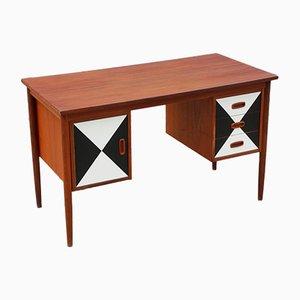 Modernist Teak Schreibtisch, 1960er
