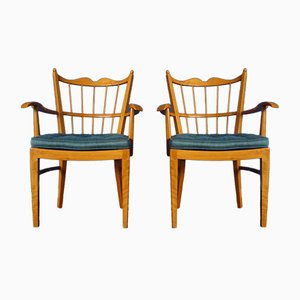 Cherry Chairs from Schildknecht, 1956, Set of 2