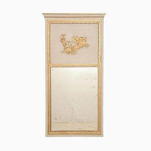 Grand Miroir de Cheminée ou Trumeau Antique