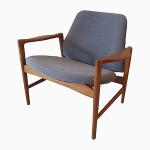 Holte Easy Chair by Ib Kofod Larsen for OPE, 1950s