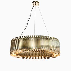 Matheny Round Ceiling Light from Covet Paris