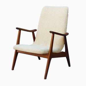 Mid-Century Lounge Chair by Louis van Teeffelen for WéBé