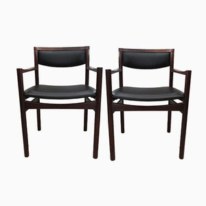 Rio Rosewood Armchairs from SAX, 1960s, Set of 2