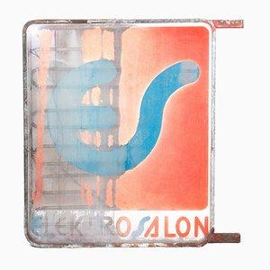 Vintage Elektrosalon Lichtpaneel