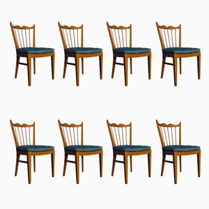 Cherry Chairs from Schildknecht, 1956, Set of 8