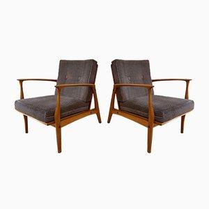 Sessel von Ib Kofod Larsen für Selig, 1960er, 2er Set