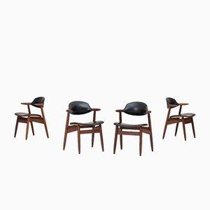 Propos Esszimmerstühle von Tijsseling für Hulmefa Nieuwe Pekela, 1960er, 4er Set