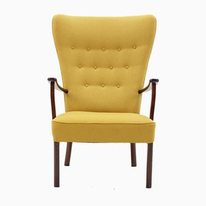 Wingback Chair from Fritz Hansen, 1960s