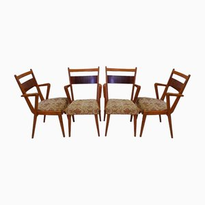 JI-350 Ash Chairs from Jitona, 1960s, Set of 4