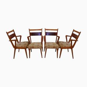 JI-350 Eschenholz Stühle von Jitona, 1960er, 4er Set