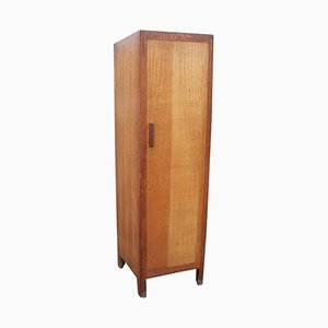 Slim Oak Wardrobe from Heal's, 1930s