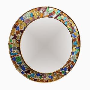 Mid-Century Spanish Mosaic Mirror, 1960s