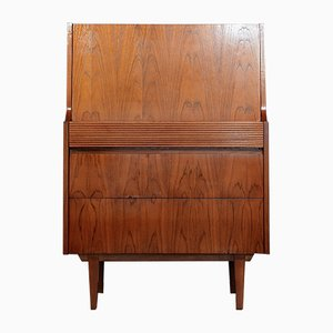 Mid-Century Teak Secretaire from Elliotts of Newbury