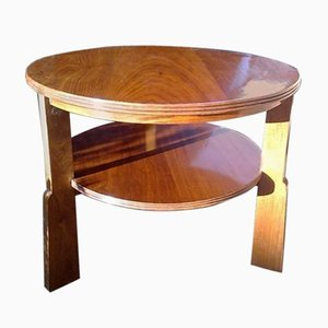 Vintage Walnut Coffee Table on Gunstock Legs from Russell of Broadway