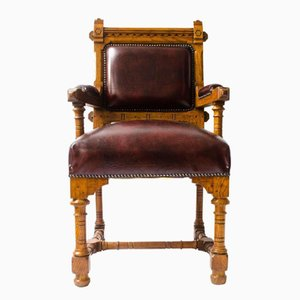 Antique Armchair by John Pollard Seddon for Seddon and Co.