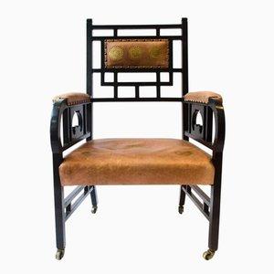 Antiker anglo-japanischer Armlehnstuhl