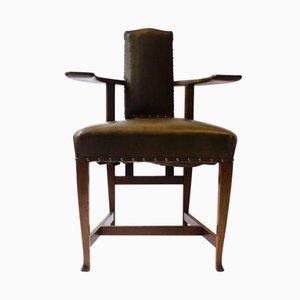 Antiker Eiche Abingdon Armlehnstuhl von George Walton