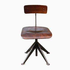 Sedia da ufficio vintage di Jean Prouvé