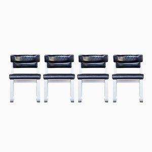 Pulkka Stühle von Ilmari Lappalainen für Asko, 1960er, 4er Set