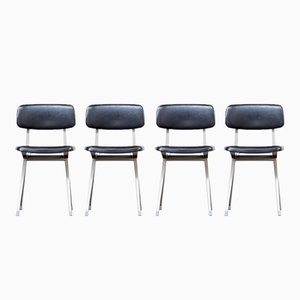 Office Chairs by Friso Kramer for Ahrend de Cirkel, 1960s, Set of 4