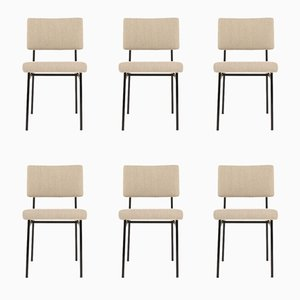 Dining Chairs by Gérard Guermonprez for Magnani, 1950s, Set of 6