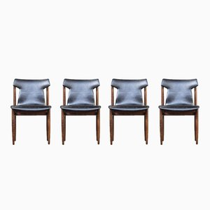 Dining Chairs by Inger Klingenberg for Fristho, 1960s, Set of 4