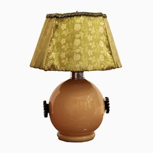 Lámpara de mesa Art Déco vintage