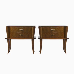 Tables de Chevet, France, 1940s, Set de 2