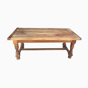 Vintage French Cherrywood Farm Table