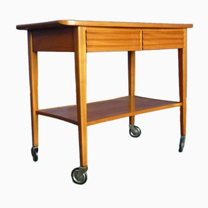 Cherry Bar Cart from Schildknecht, 1950s