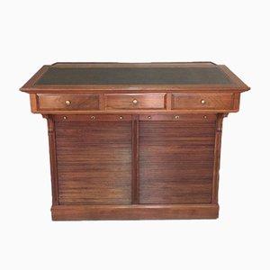Mueble de notario francés de nogal, años 20
