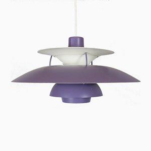 Lampe à Suspension PH5 Vintage par Poul Henningsen pour Louis Poulsen