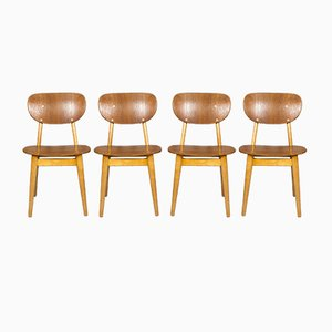 Chaises de Salle à Manger SB11 par Cees Braakman pour Pastoe, 1950s, Set de 4