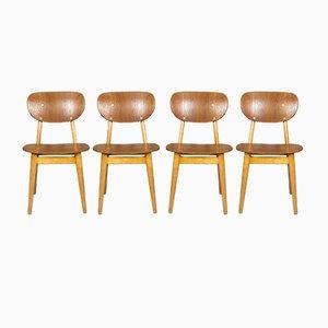 SB11 Esszimmerstühle von Cees Braakman für Pastoe, 1950er, 4er Set