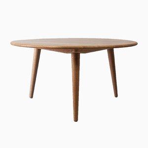 Tavolino da caffè di Hans Wegner per Andreas Tuck, anni '50